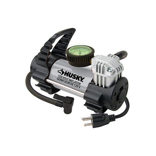 Husky 120-Volt Inflator