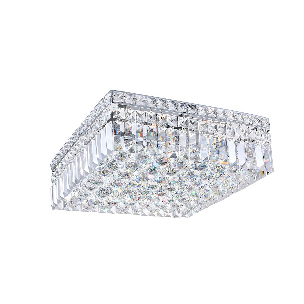 CWI Lighting 14 Inches Square Flush Mount