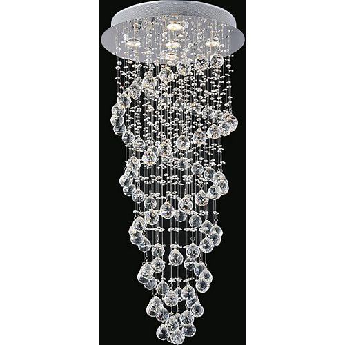 CWI Lighting 18 Inches Double Spiral