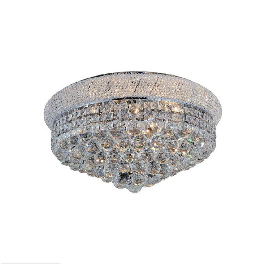CWI Lighting 24 Inches Beaded Flush Mount
