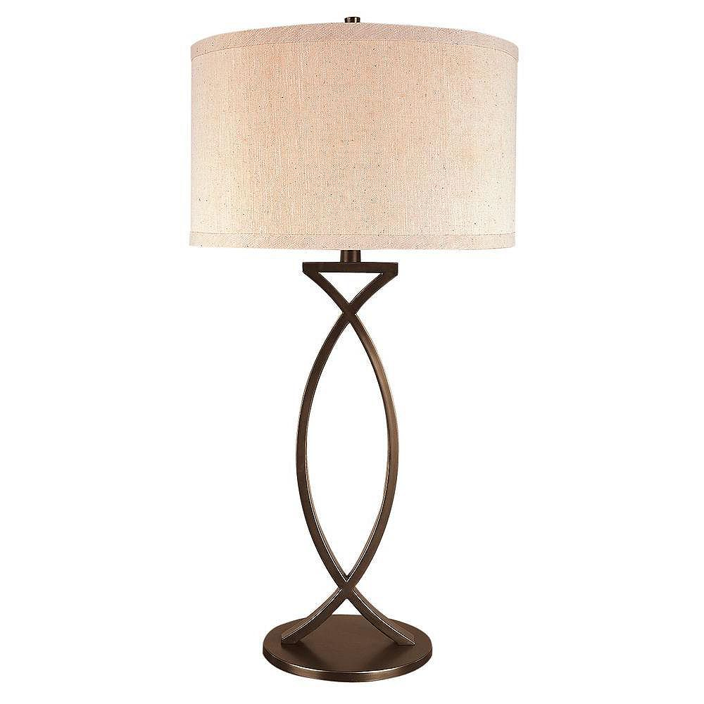 Trend Lighting 1 Light Table Aged Brass Incandescent Table Lamp
