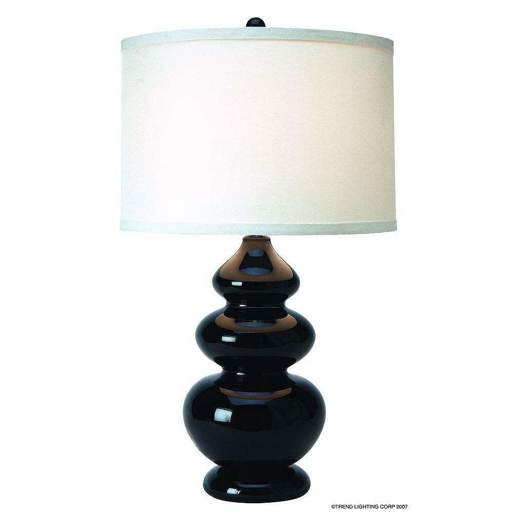 Trend Lighting 1 Light Table Midnight Incandescent Table Lamp