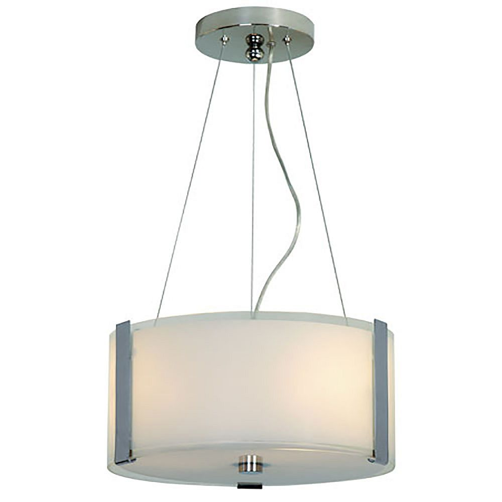 Trend Lighting 2 Light Ceiling Pearl Incandescent Pendant