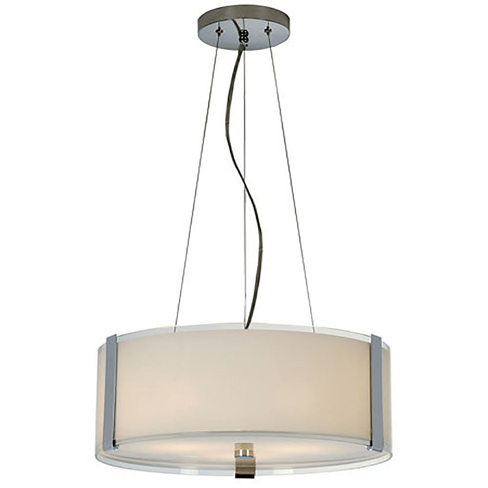 Trend Lighting 3 Light Ceiling Pearl Incandescent Pendant