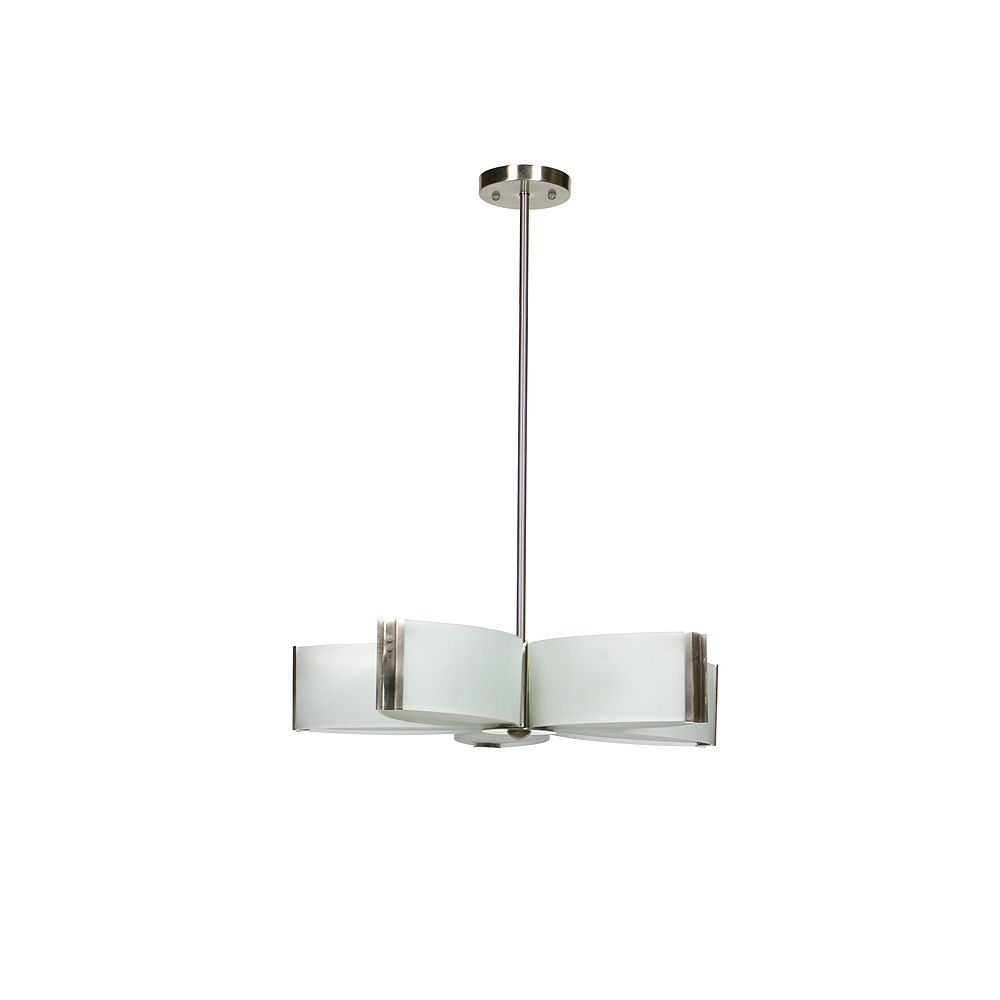 Lumirama 5 Light Frosted Glass Suspension