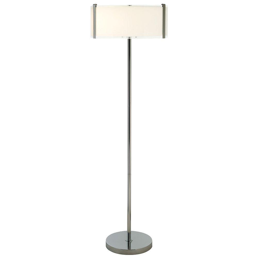 Trend Lighting 3 Light Floor Polished Chrome Incandescent Floor Lamp