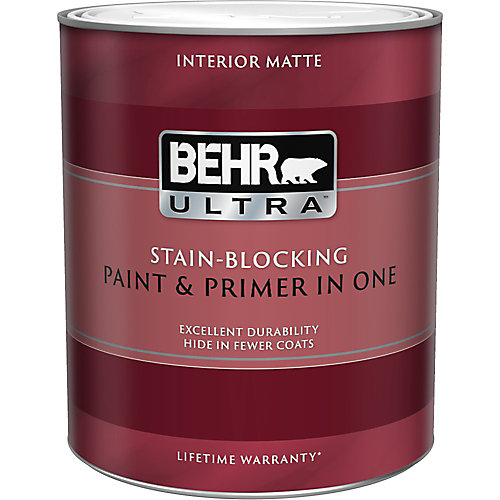 ULTRA Interior Matte Paint & Primer in One - Deep Base, 946ML