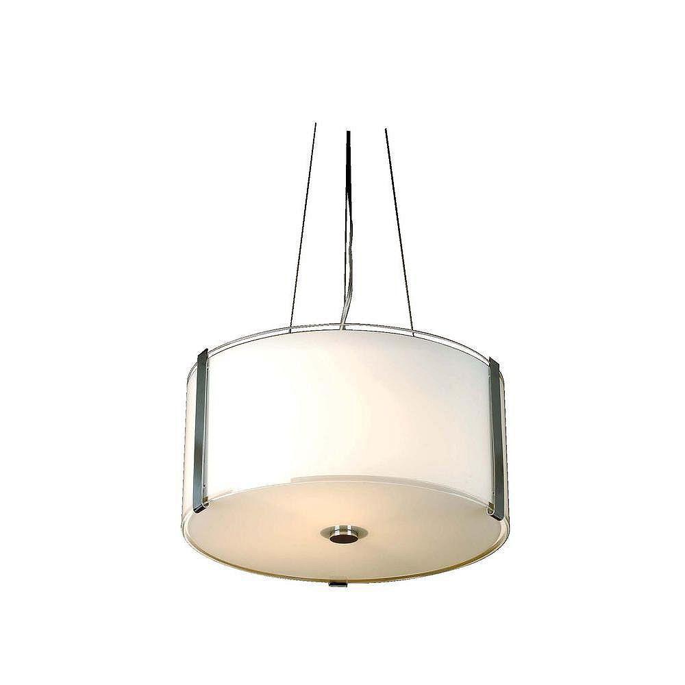 Trend Lighting 3 Light Ceiling Polished Chrome Incandescent Pendant
