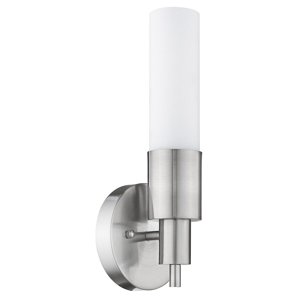 Trend Lighting 1 Light Wall Brushed Nickel Fluorescent Wall Sconce