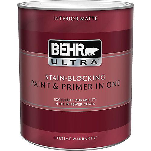 ULTRA Interior Matte Paint & Primer in One - Medium Base, 946ML