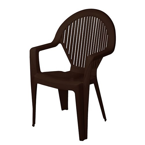 Gracious Living Pinehurst Outdoor Chair in Earth