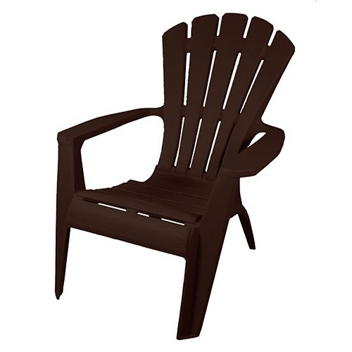 Gracious Living Outdoor Adirondack Chair in Earth