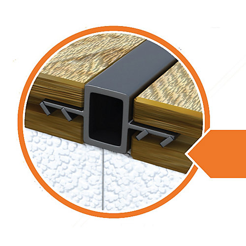 Insulated Subfloor connectors