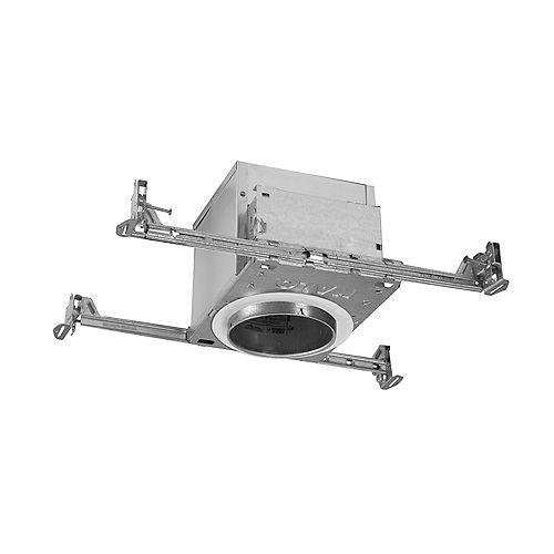 Boîtier Air-Tite 4 po IC/non IC pour éclairage encastré à DEL dans nouvelles constructions