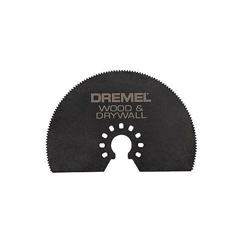 Dremel Multi-Max 3 In. Wood & Drywall Saw Blade