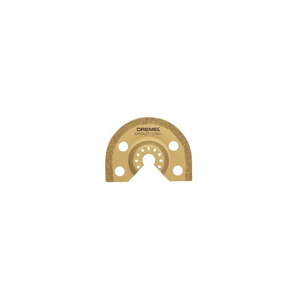 Dremel Lame de 3,2 mm (1/8 po) pour enlever le coulis.