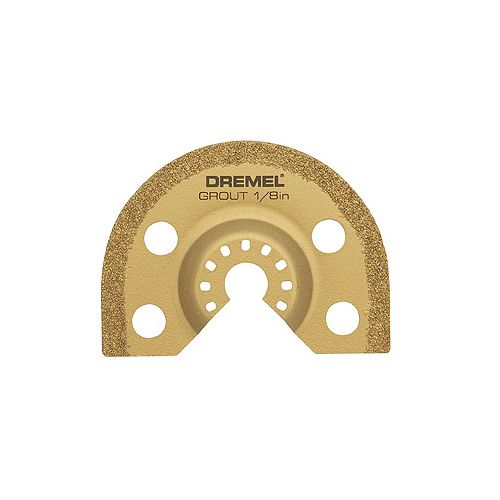 Multi-Max 1/8 In. Grout Remover Blade