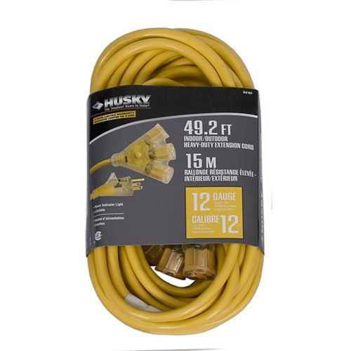 Indoor / Outdoor Heavy-Duty Extension Cord