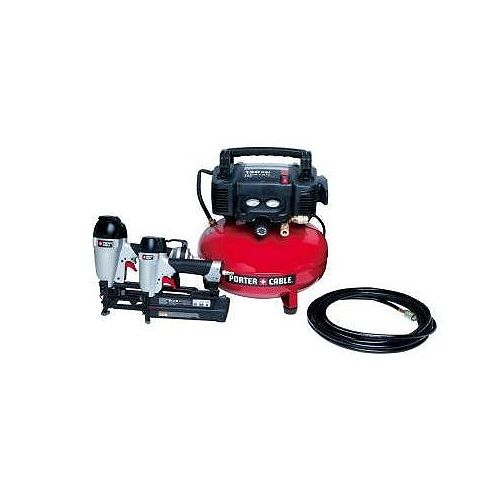 2 Nailer/6-Gallon Compressor Combo Kit
