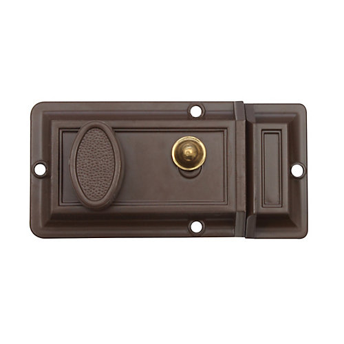 Loquet de surface bronze brossé