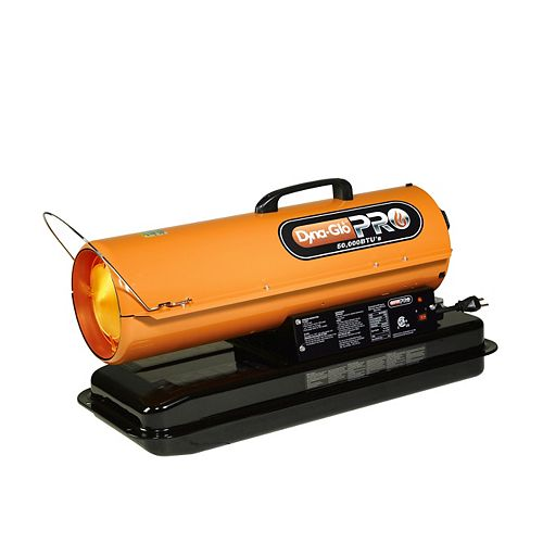 50K BTU Kerosene Forced Air Heater