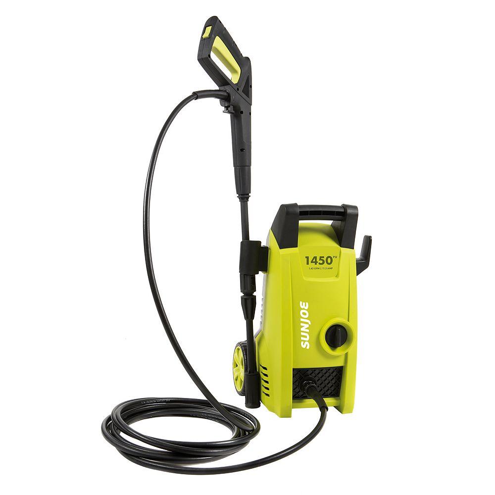 Sun Joe Nettoyeur électrique à haute pression Pressure Joe 1450 PSI, 1,45 GPM 11,5 A