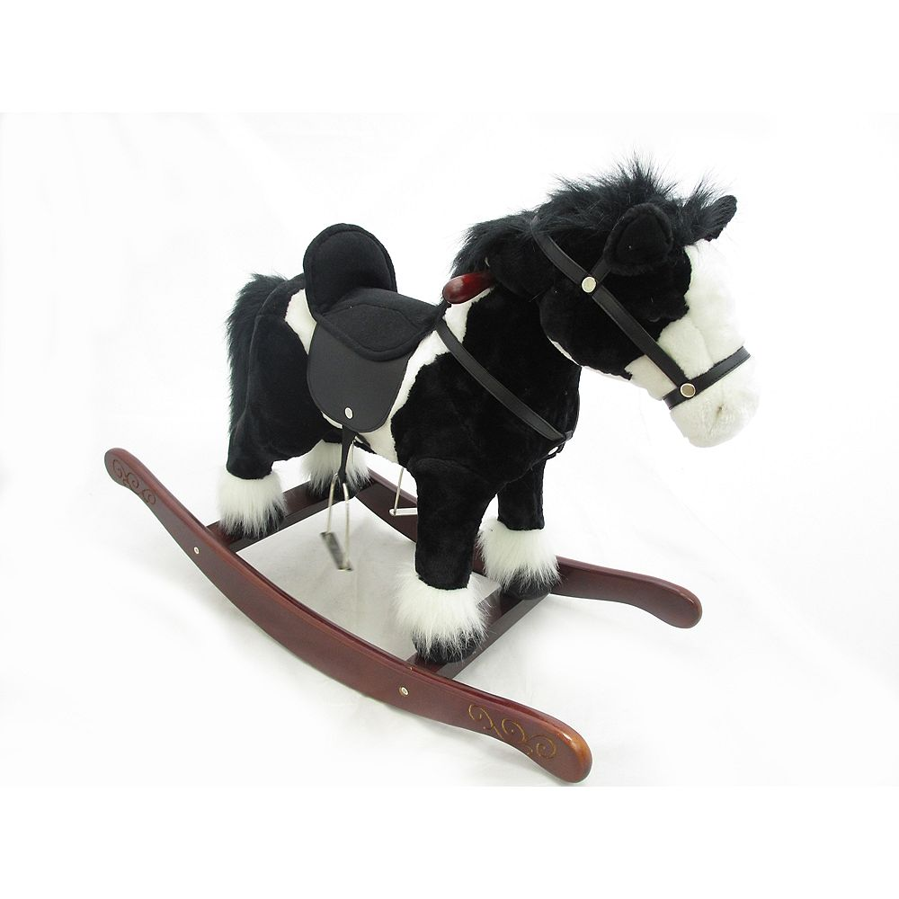 Home Accents 29 -inch Rocking Horse_Black