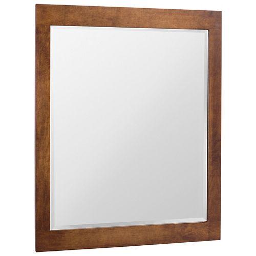 Miroir Casual cognac 30 po x 36 po