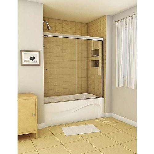 Canvas 2-Panel Frameless Tub Door