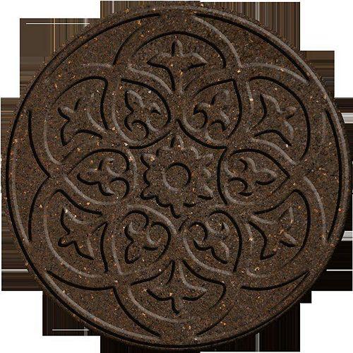Ecotrend Pas japonais décoratif SABLE 18 po diamètre.