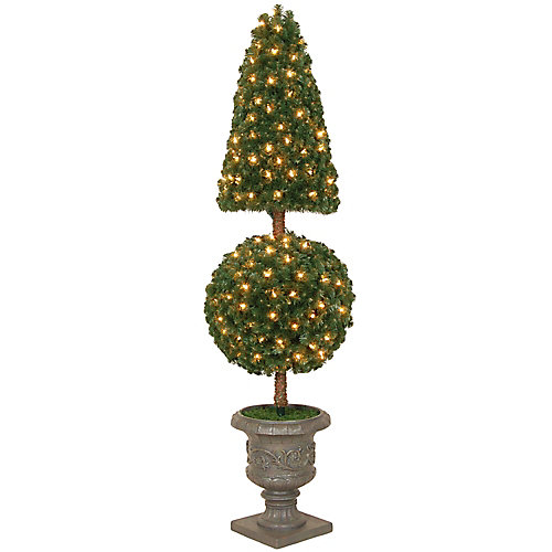 5 ft. Topiary Accent Tree