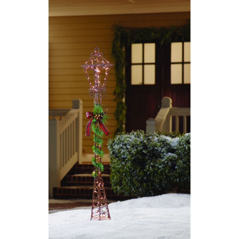 Home Accents Grapevine Lamp Post - 60 inch