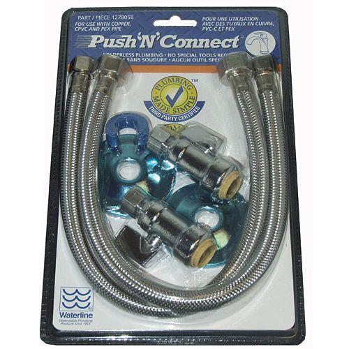 Push'N'Connect Ventilateur Pour Conduit DAir Pcm À Montage Sous Plan