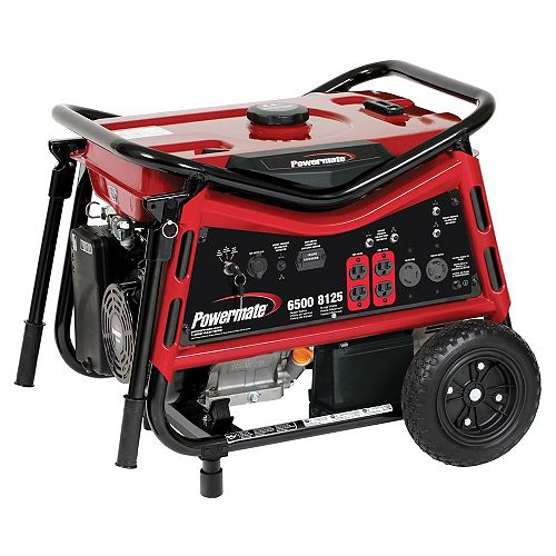 6500W Portable Generator with Electric Start