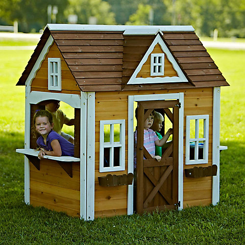 Craftsman Cottage Playhouse
