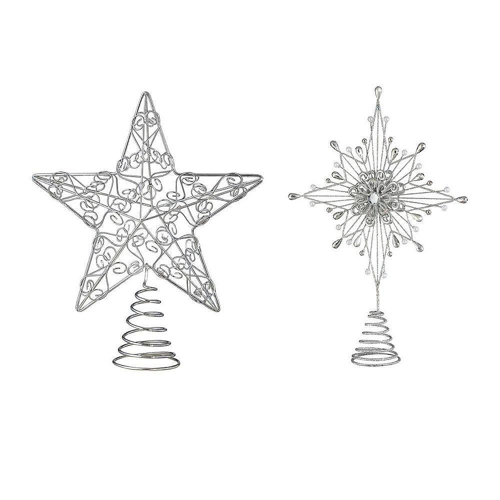 Martha Stewart Living Star Tree Topper (Assorted Styles)