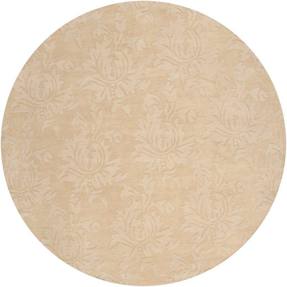 Artistic Weavers Sofia Gold 8 ft. x 8 ft. Indoor Transitional Round Area Rug