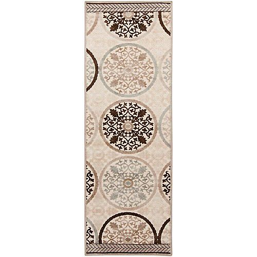 Artistic Weavers Clay Grey 2 ft. 6-inch x 7 ft. 10-inch Indoor Transitional Runner
