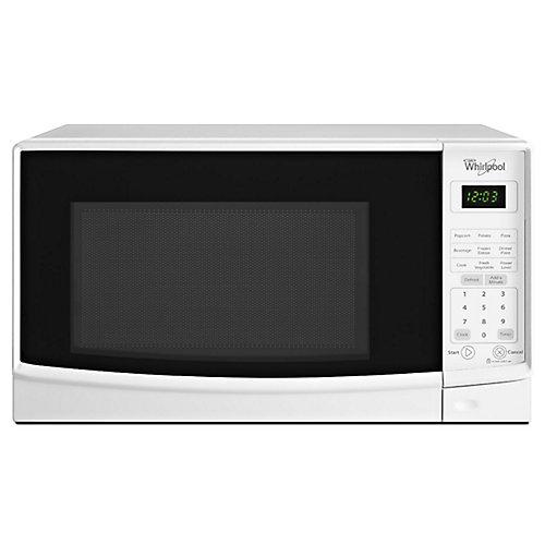 Comptoir de 0,7 pi3 Micro-ondes en blanc