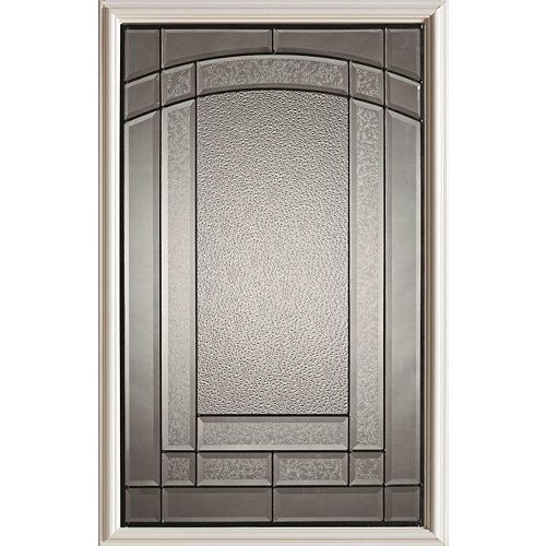 23 inch x 37 inch Chatham Patina Caming 1/2 Lite Decorative Glass Insert