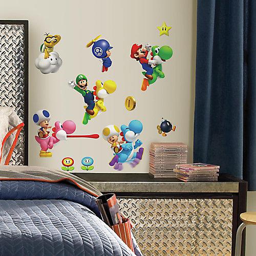 Stickers Muraux Super Mario Bros. Wii