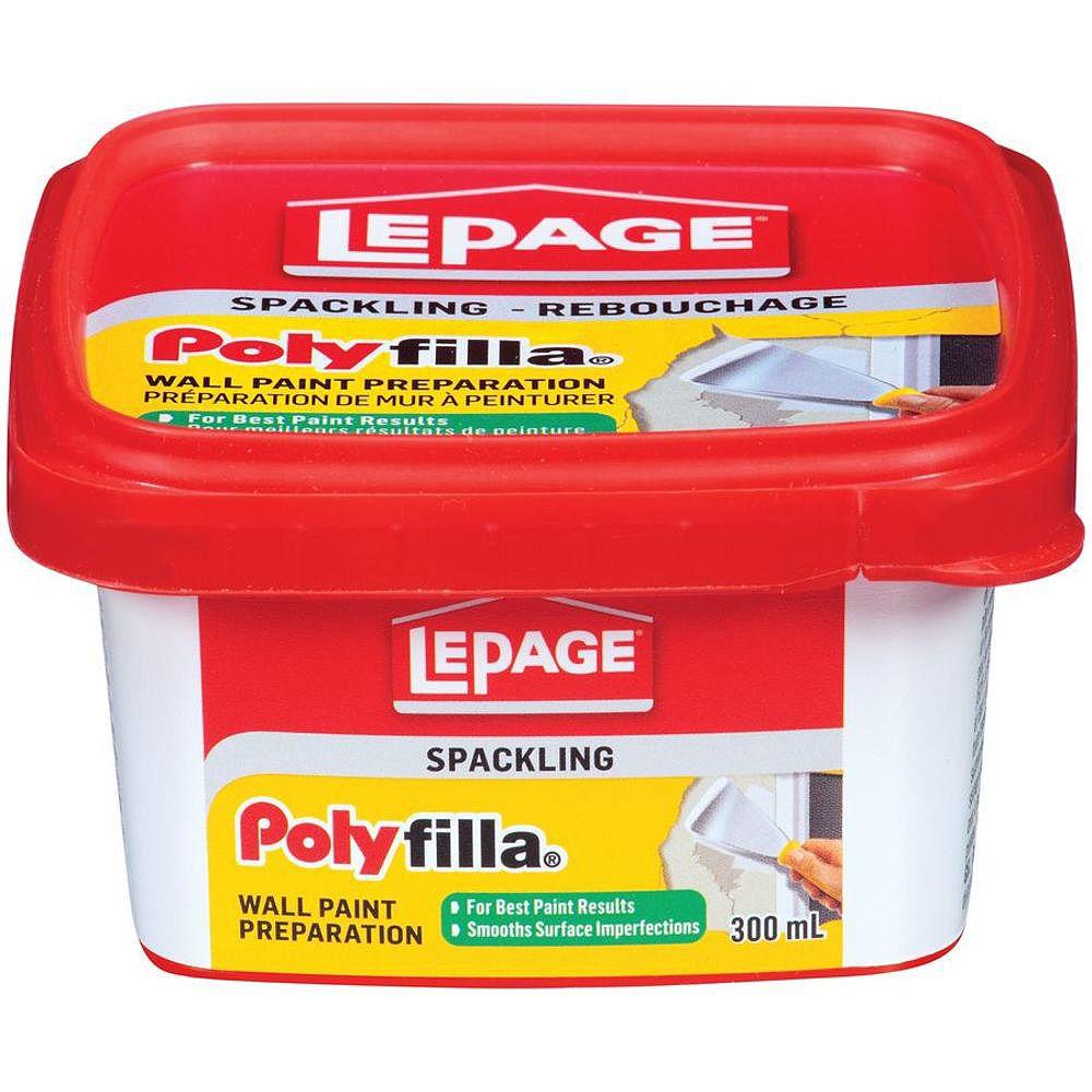 LePage Polyfilla Préparation De Mur à Peinturer, 300 ml