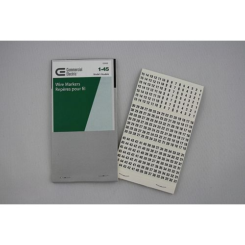 CE Wire Markers 1-45