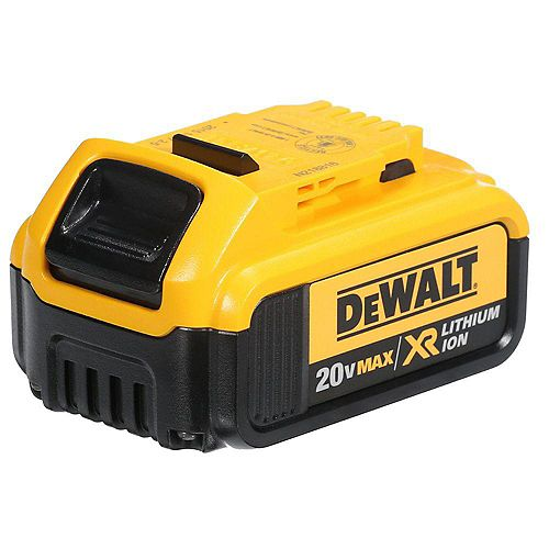DEWALT 20V MAX XR Lithium-Ion Premium Battery Pack 4.0Ah