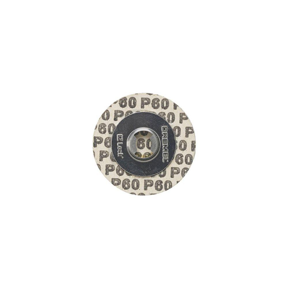Dremel EZ Lock Sanding Discs, 60 Grit