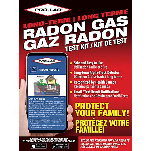 Long Term Radon Gas