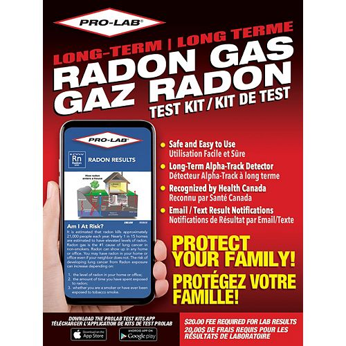Long Term Radon Gas
