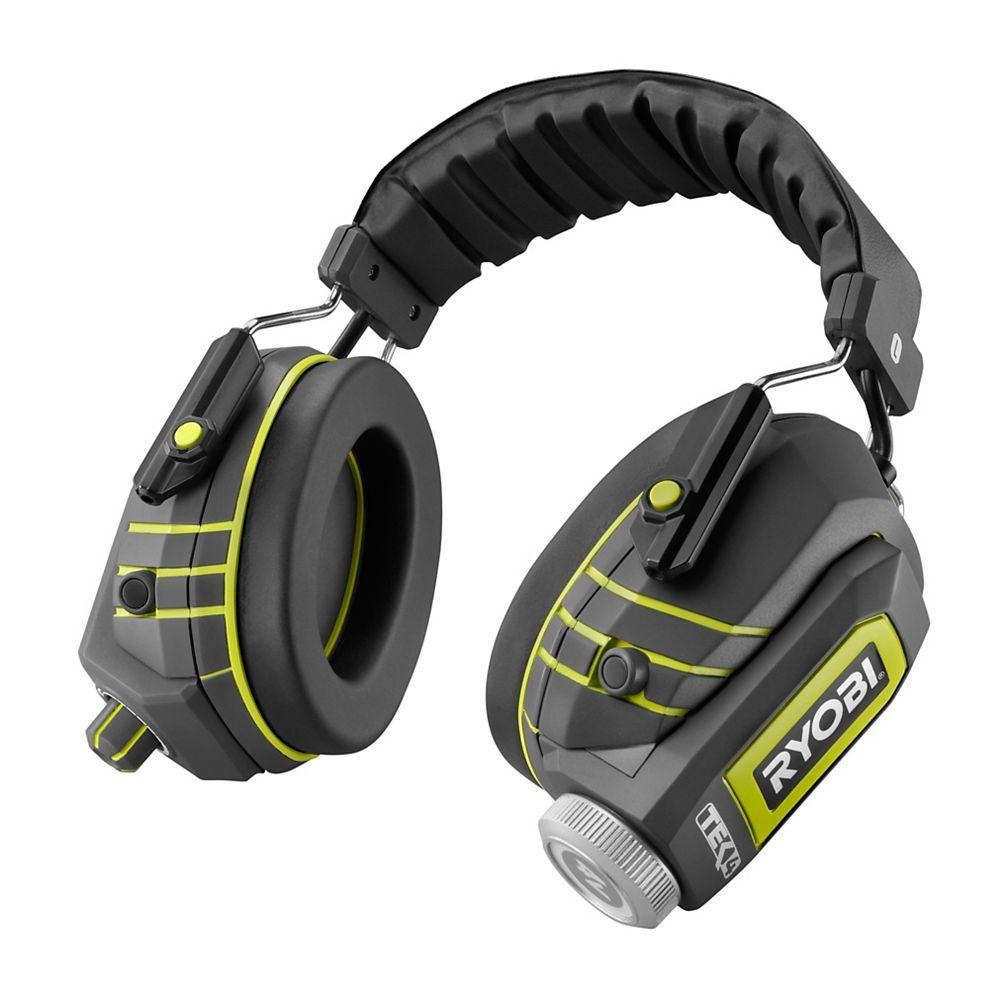 RYOBI Casque découte antibruit Audio Plus