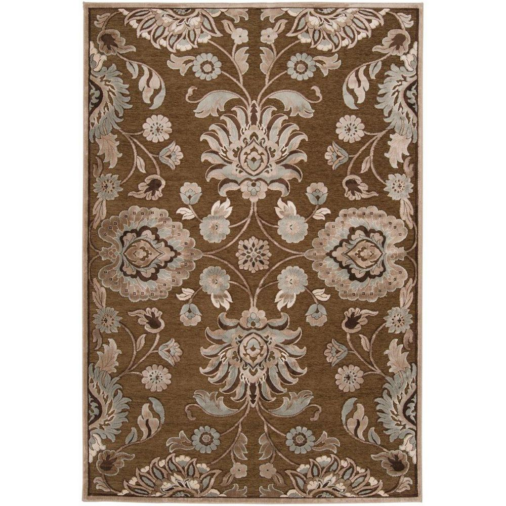 Artistic Weavers Lauren Brown 8 ft. 8-inch x 12 ft. Indoor Transitional Rectangular Area Rug