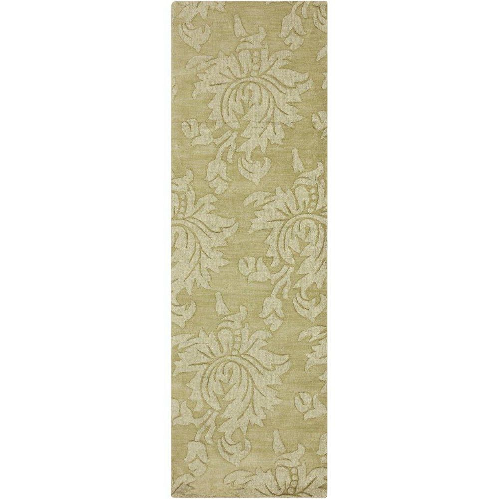 Artistic Weavers Sofia Green 2 ft. 6-inch x 8 ft. Indoor Transitional Runner
